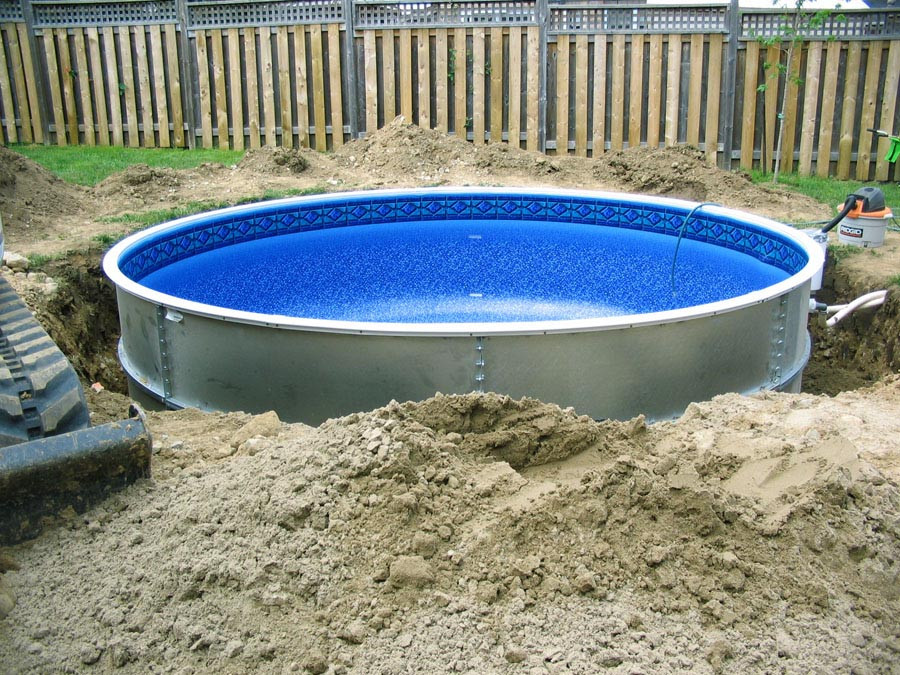 Best ideas about Inground Pool Kit . Save or Pin Ideas and Benefits of a Semi Inground Pool Now.