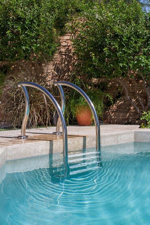 Best ideas about Inground Pool Ladder . Save or Pin Inground Pool Ladders Different Styles and Shapes to Now.