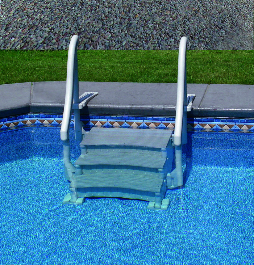 Best ideas about Inground Pool Ladder . Save or Pin CONFER PLASTICS INC THE CONFER CURVE FOR INGROUND POOLS Now.