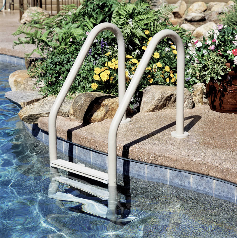 Best ideas about Inground Pool Ladder . Save or Pin Swimming Pool Steps & Ladders Pool Option & Upgrade Now.