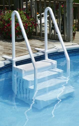 Best ideas about Inground Pool Ladder . Save or Pin Top 9 Pool Ladders Now.