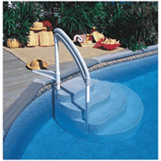Best ideas about Inground Pool Ladder . Save or Pin Lumi o WEDDING CAKE III W PVC HANDRL MAJESTIC NE100 Now.