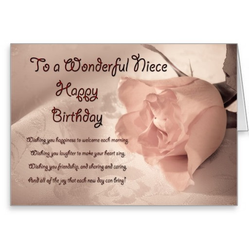 Inspirational Birthday Wishes For A Niece  Inspirational Quotes For Niece Birthday QuotesGram