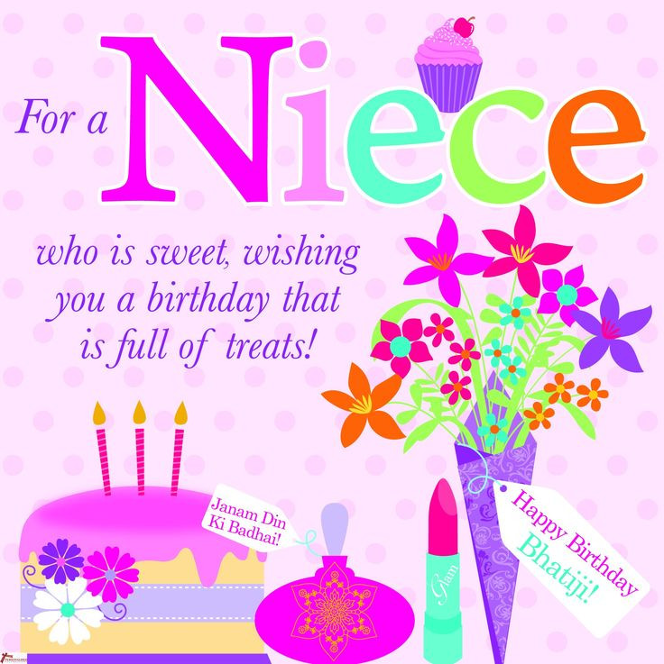 Inspirational Birthday Wishes For A Niece  Birthday Wishes for Niece Happy birthday Messages Quotes