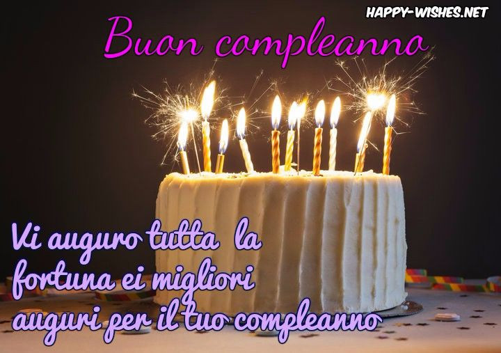 Best ideas about Italian Birthday Wishes . Save or Pin Happy Birthday Wishes in Italian Happy Wishes Now.