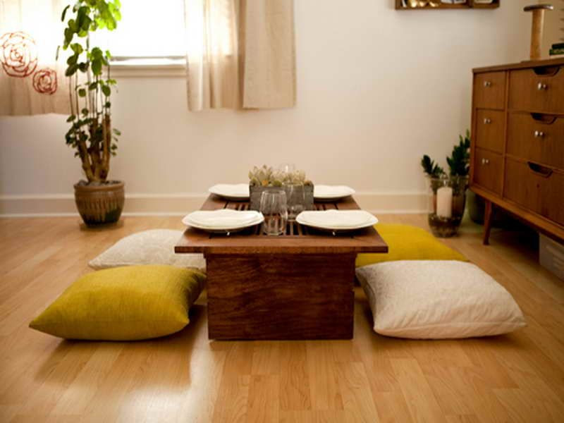 Best ideas about Japanese Dining Table . Save or Pin Delightful Japanese Style Low Dining Table Ideas Awesome Now.