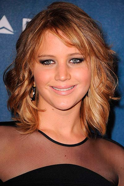 Jennifer Lawrence Bob Hairstyle  Lovely Long Bob Hairstyles Inspired By Celebrities – The