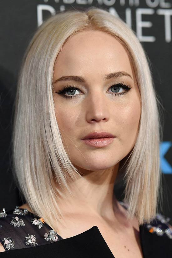 Jennifer Lawrence Bob Hairstyle  26 Gorgeous Layered Bob HairStyles to inspire you