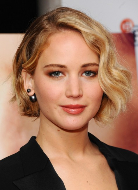 Jennifer Lawrence Bob Hairstyle  40 Celebrity Short Hairstyles Short Hair Cut Ideas for