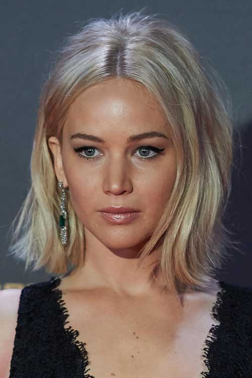 Jennifer Lawrence Bob Hairstyle  20 Best Jennifer Lawrence with Short Hair