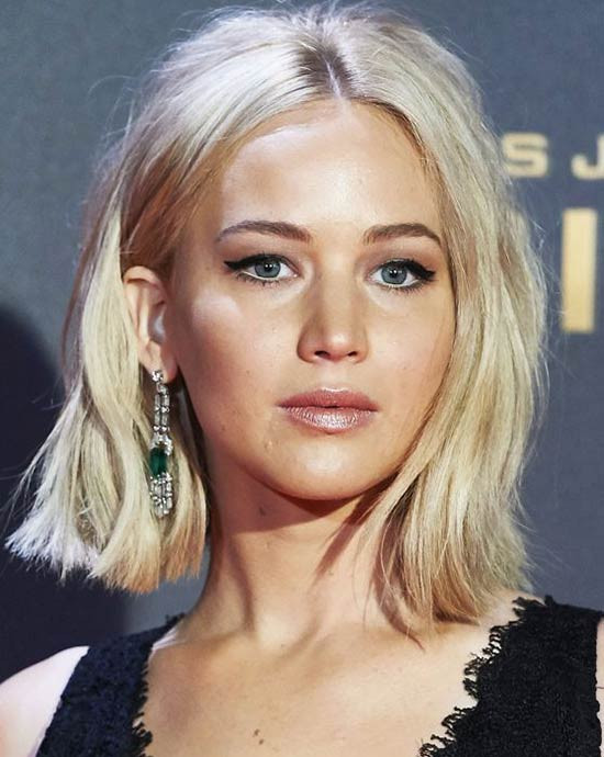 Jennifer Lawrence Bob Hairstyle  Top 18 Jennifer Lawrence Hairstyles & haircuts Inspire You