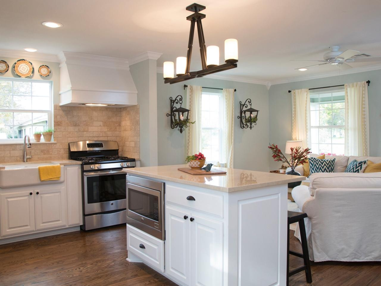 Best ideas about Joanna Gaines Kitchen Ideas . Save or Pin Hgtv family rooms design kitchen and joanna gaines chip Now.