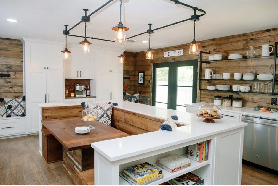 Best ideas about Joanna Gaines Kitchen Ideas . Save or Pin Country Chic Kitchen Redesigns from Joanna Gaines Now.