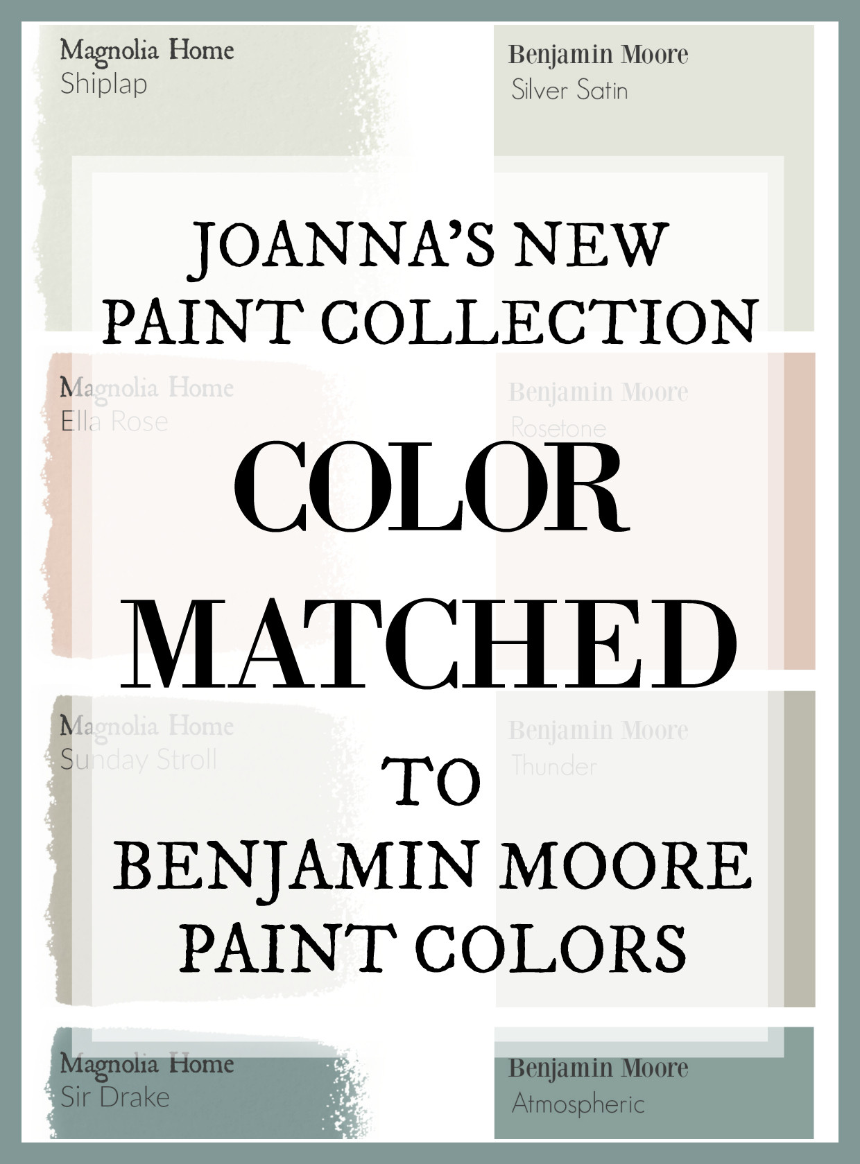 Best ideas about Joanna Gaines Paint Colors Sherwin Williams . Save or Pin Fixer Upper Paint Colors Magnolia Home Paint Color Now.
