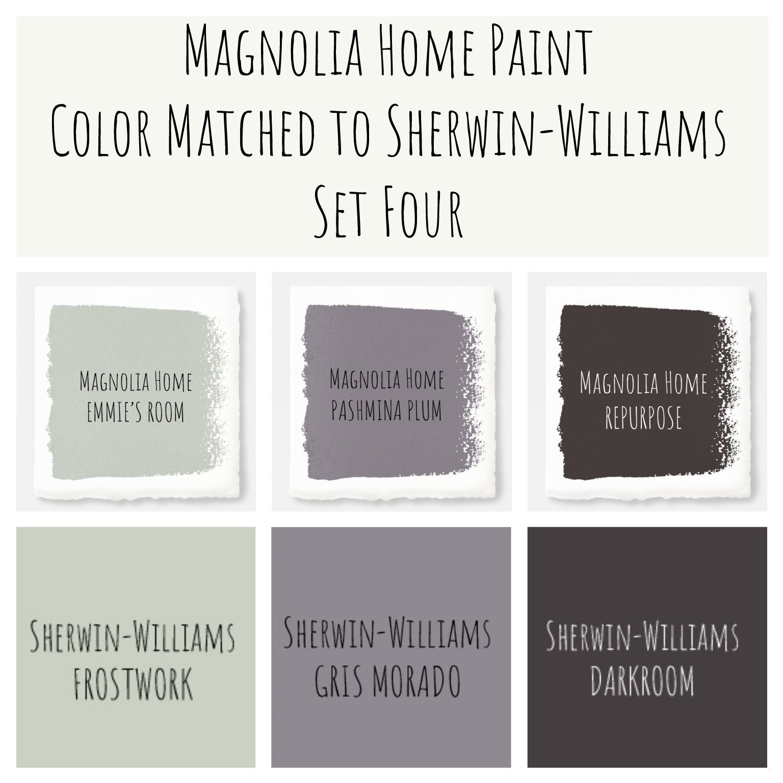 Best ideas about Joanna Gaines Paint Colors Sherwin Williams . Save or Pin Joanna Gaines Magnolia Home paint color matched to Sherwin Now.