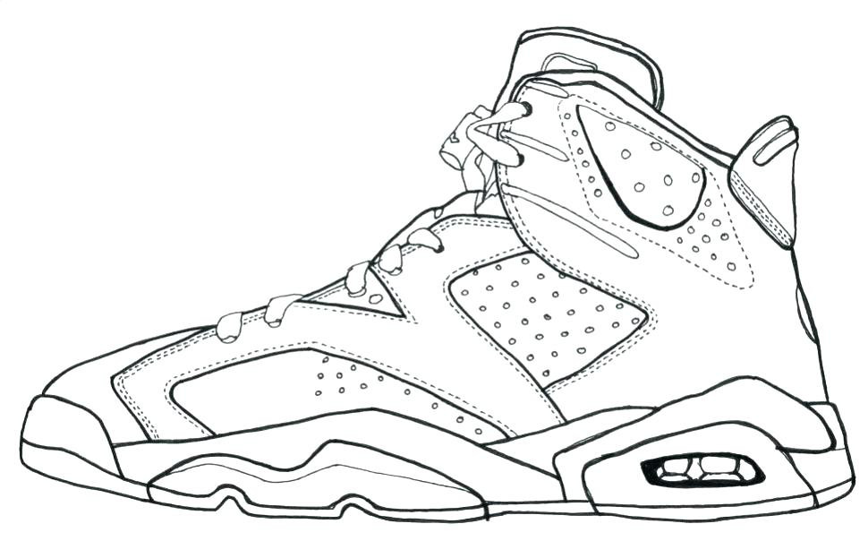 Jordan Coloring Pages  Jordan Coloring Pages S Nike Michael Logo Coloring Page