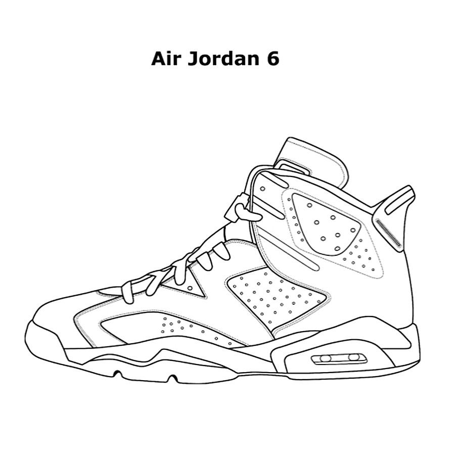Jordan Coloring Pages  Da Vinci Air Jordan Coloring Book NoveltyStreet