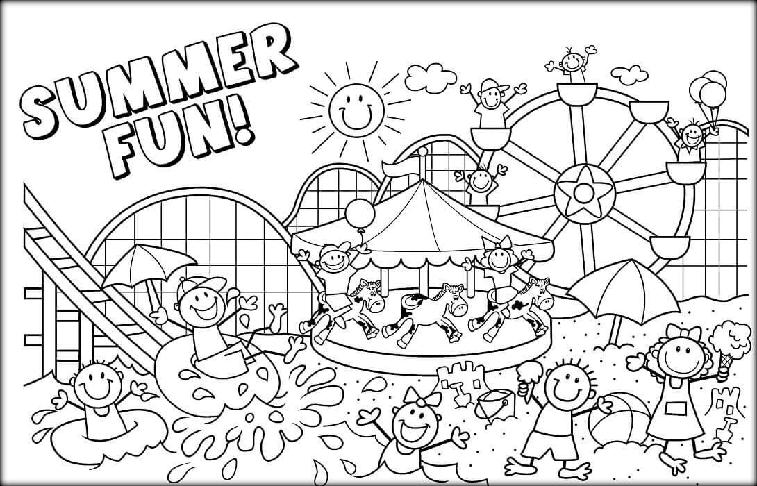 June Coloring Pages  15 Free June Coloring Pages To Print