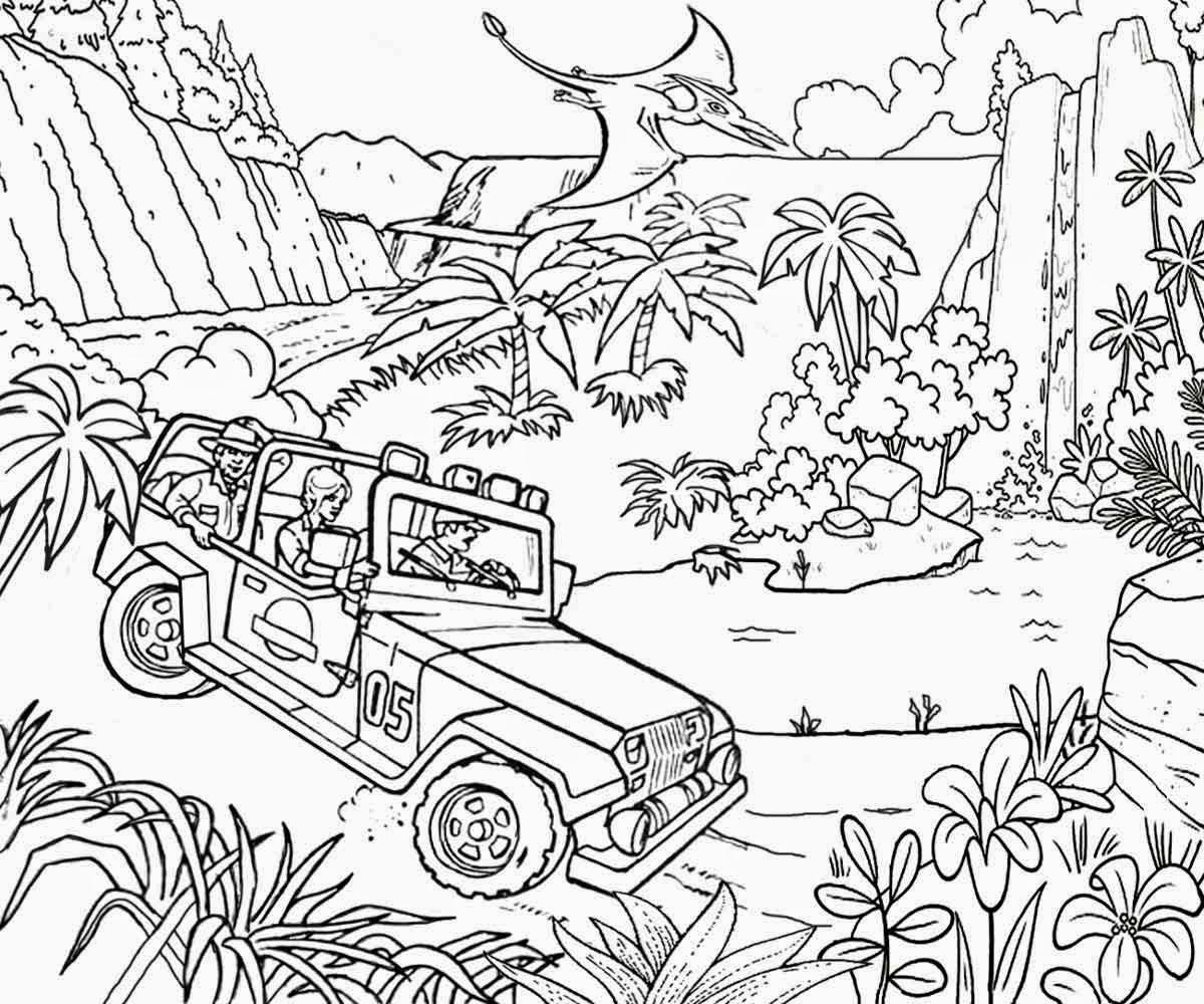 Jungle Coloring Pages  Jungle Coloring Pages coloringsuite