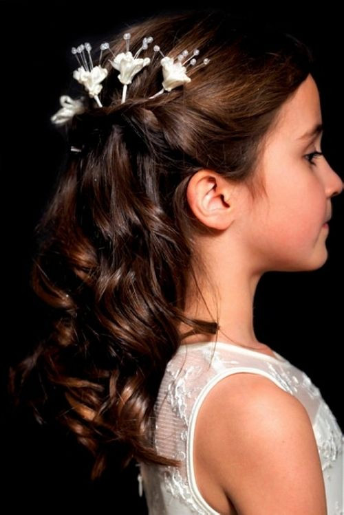 Junior Bridesmaid Hairstyles  Junior Bridesmaid Hairstyles on Pinterest