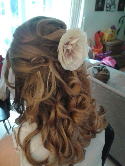Junior Bridesmaid Hairstyles  Junior bridesmaid hair style for brooke