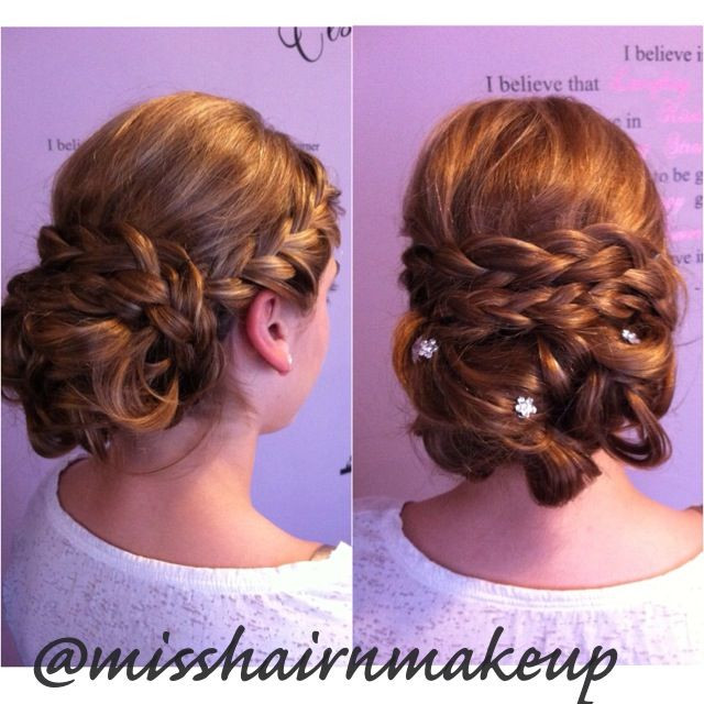 Junior Bridesmaid Hairstyles  Updo Hairstyles For Junior Bridesmaids