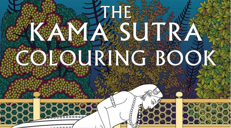 Kama Sutra Coloring Book  Now a Kama Sutra colouring book for adults