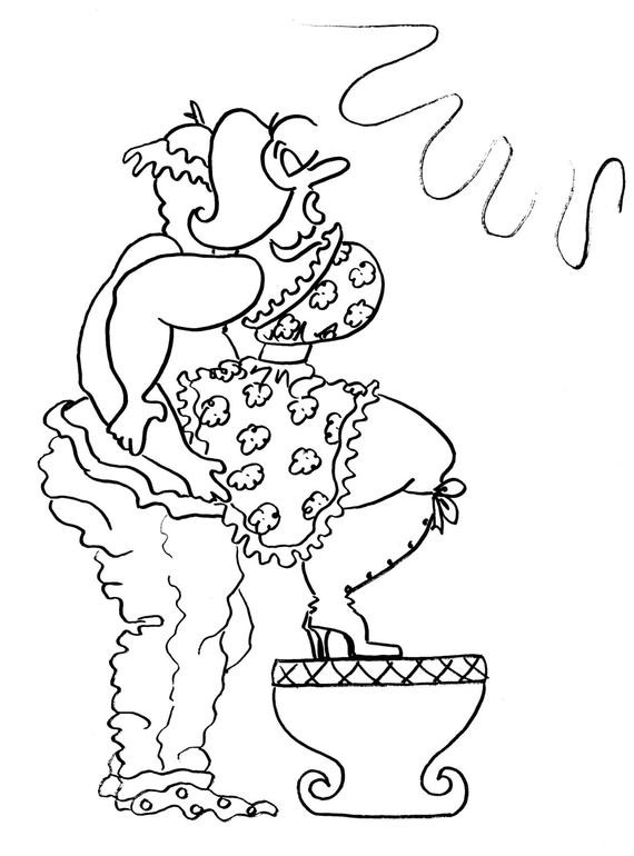 Kama Sutra Coloring Book  The Squat Balance Fun y Coloring Pages for Adults from