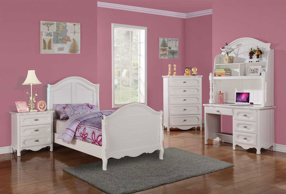 Best ideas about Kid Bedroom Sets . Save or Pin White kids bedroom set Heyleen Now.