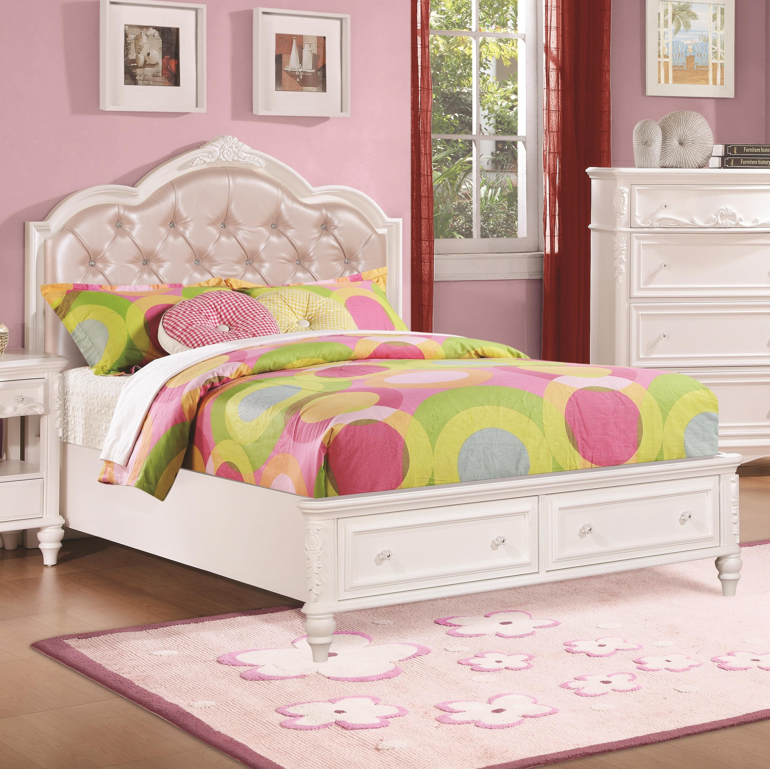 Best ideas about Kid Bedroom Sets . Save or Pin Buy Caroline Twin Storage Bedroom Set by Coaster from Now.