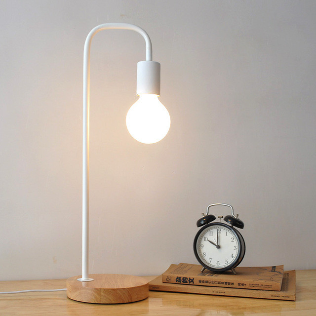 Best ideas about Kid Desk Lamps . Save or Pin Metal Black Table Lamps Bedside Table Light abajur Modern Now.