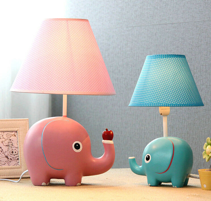 Best ideas about Kid Desk Lamps . Save or Pin new cute elephant table lamp Kid child room lovely desk Now.