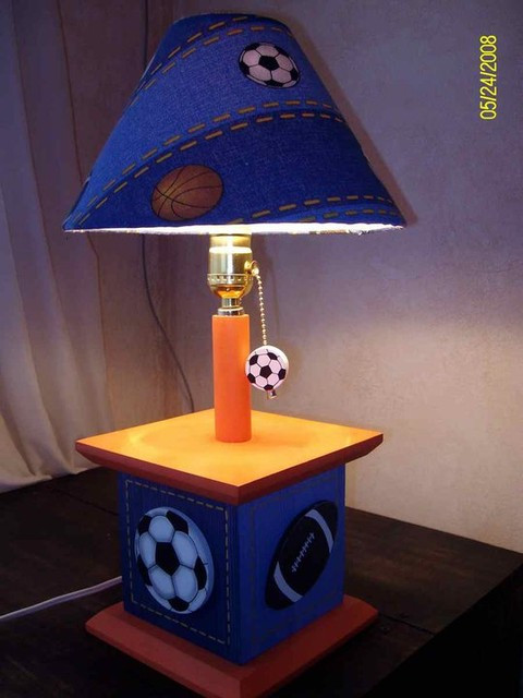 Best ideas about Kid Desk Lamps . Save or Pin Sports Table Lamps for Kids Room Kids Lamps by Under Ten Now.