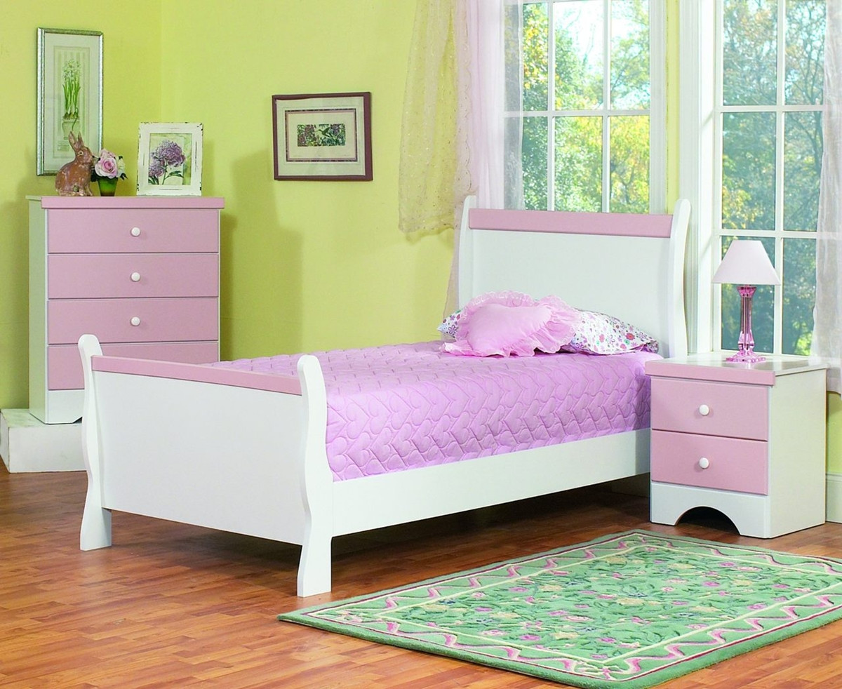 Best ideas about Kids Bedroom Furniture Sets . Save or Pin Purple and White Furniture Sets Kids Bedroom Design Home Now.