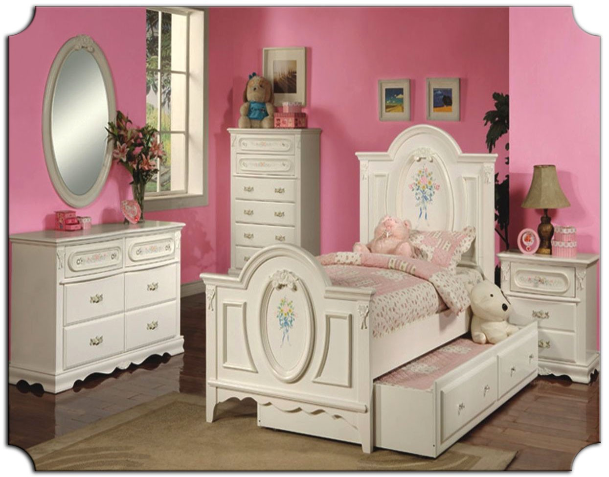 Best ideas about Kids Bedroom Furniture Sets . Save or Pin Kids Bedroom Furniture Girls Now.