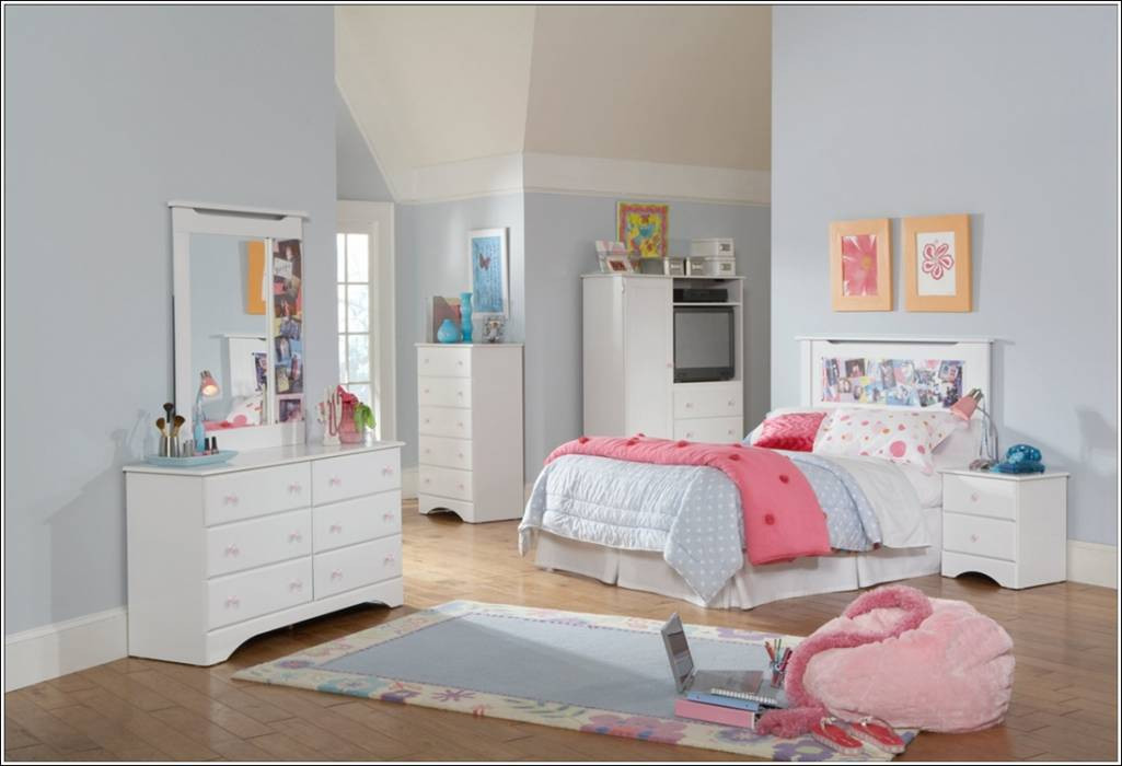 Best ideas about Kids Bedroom Furniture Sets . Save or Pin Youngsters Bed room White Furnishings Units House Now.