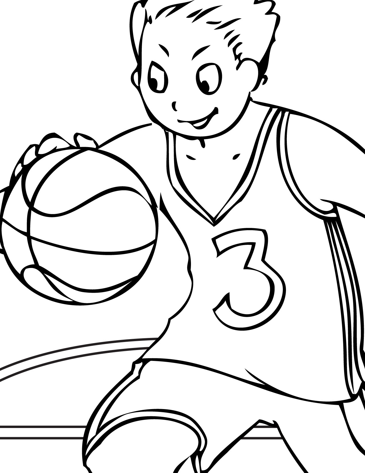 Kids Free Coloring Sheets  Free Printable Volleyball Coloring Pages For Kids