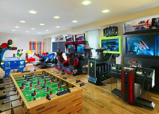 Best ideas about Kids Game Room . Save or Pin kids game room video game room for the kids brown wooden Now.