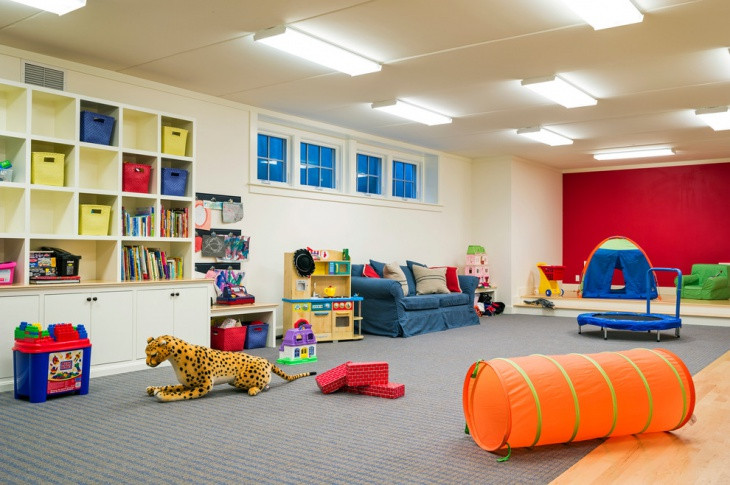 Best ideas about Kids Game Room . Save or Pin 20 Basement Game Room Designs Ideas Now.