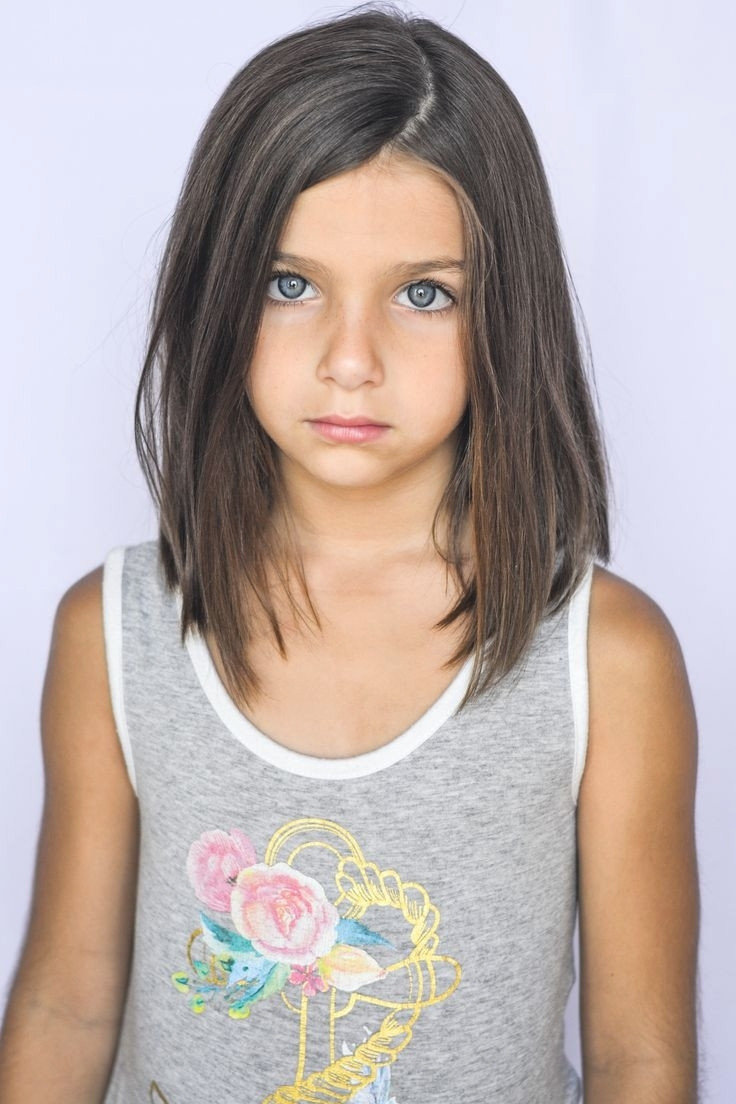 Kids Girl Hairstyle  Shoulder Length Haircuts For Kids