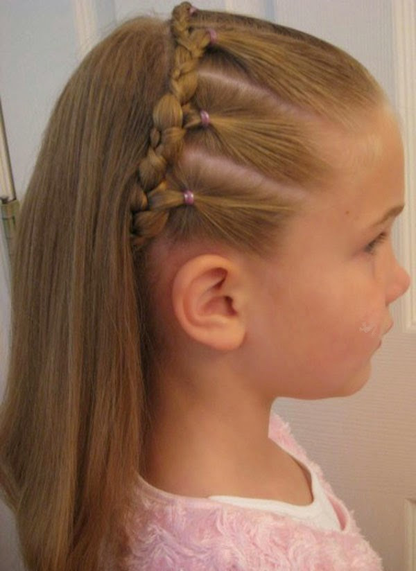 Kids Girl Hairstyle  StyleVia School Kids Hairstyles Trends 2014