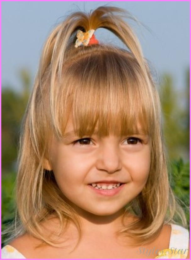 Kids Girl Hairstyle  Different haircuts for kids girls StylesStar