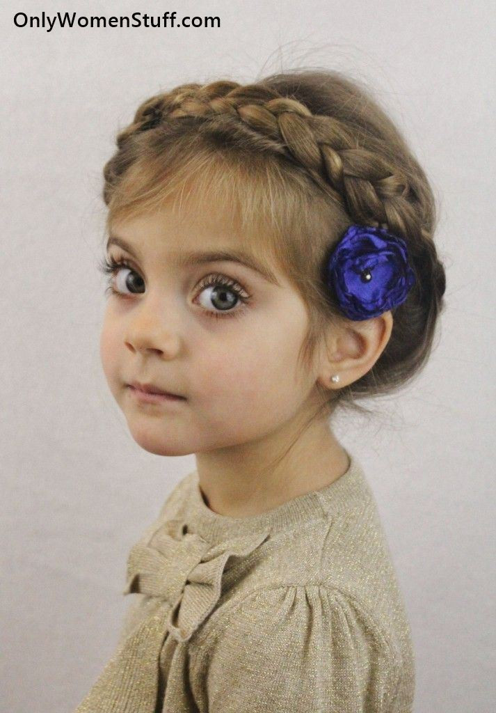 Kids Girl Hairstyle  30 Easy【Kids Hairstyles】Ideas for Little Girls Very Cute