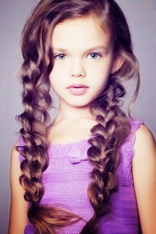 Kids Girl Hairstyle  Lovely Hairstyles for Girls