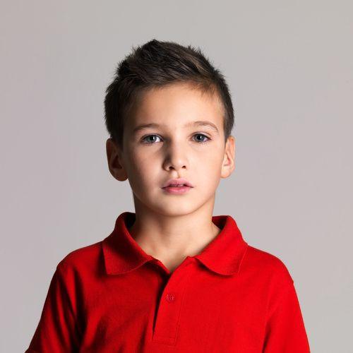 Kids Hair Cut Austin  Keep thick hair under control with close cut sides and a