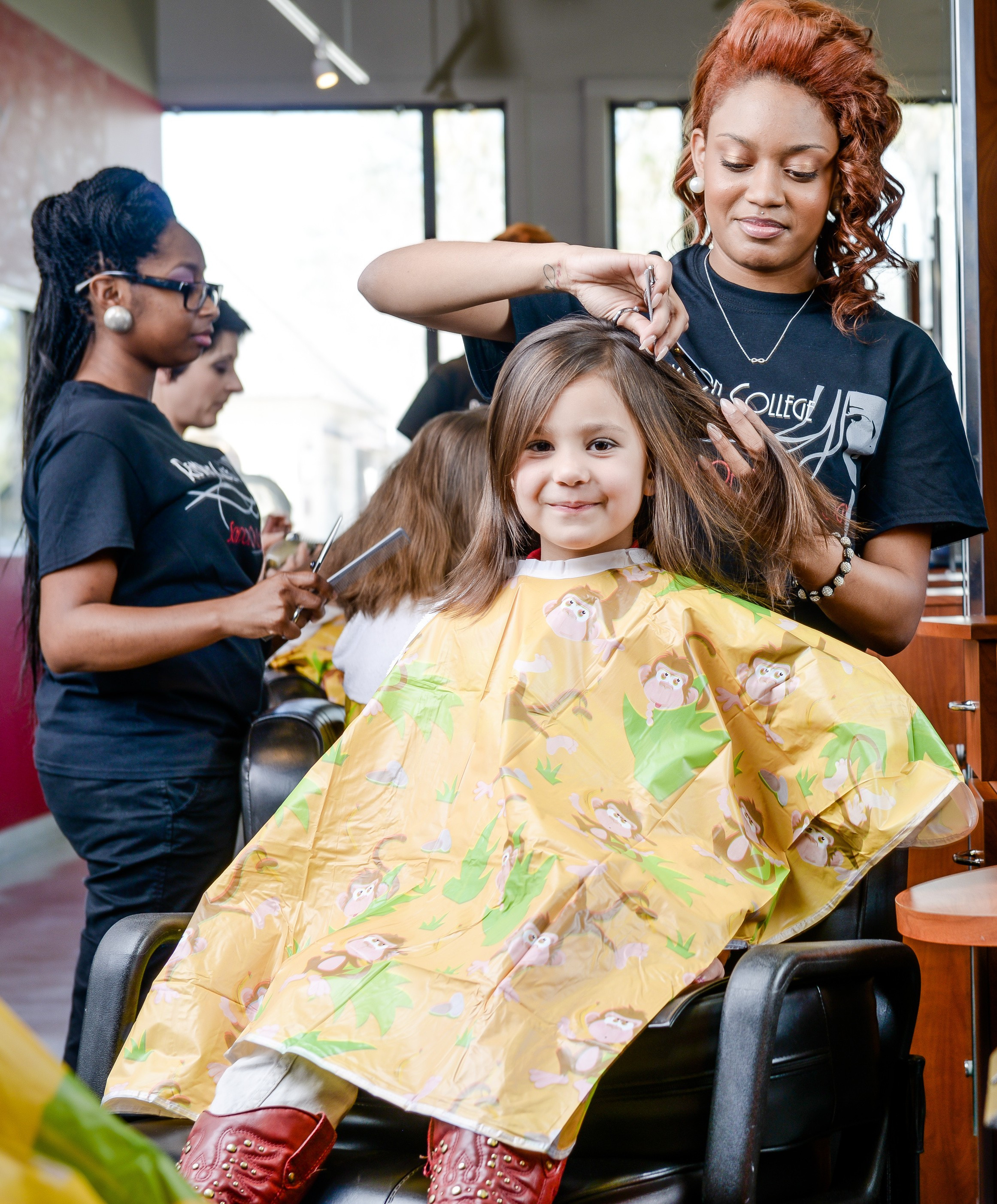 Kids Haircuts Houston  Remington College Webster Campus provides free back to