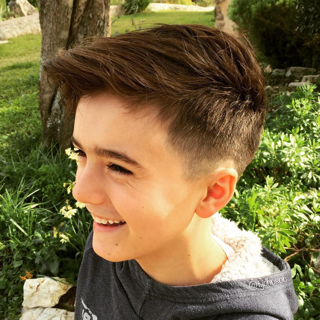 Kids Haircuts  25 Cool Haircuts For Boys 2017