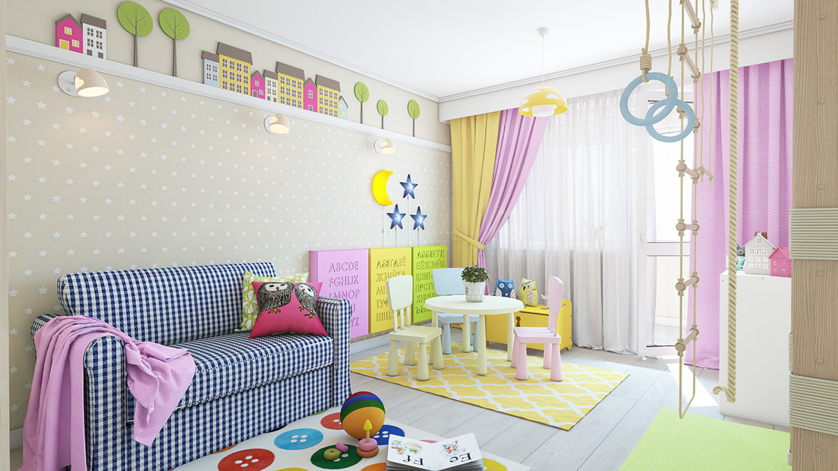 Best ideas about Kids Room Curtains Ideas . Save or Pin Types Kids Room Decorating Ideas And Inspiration For Now.