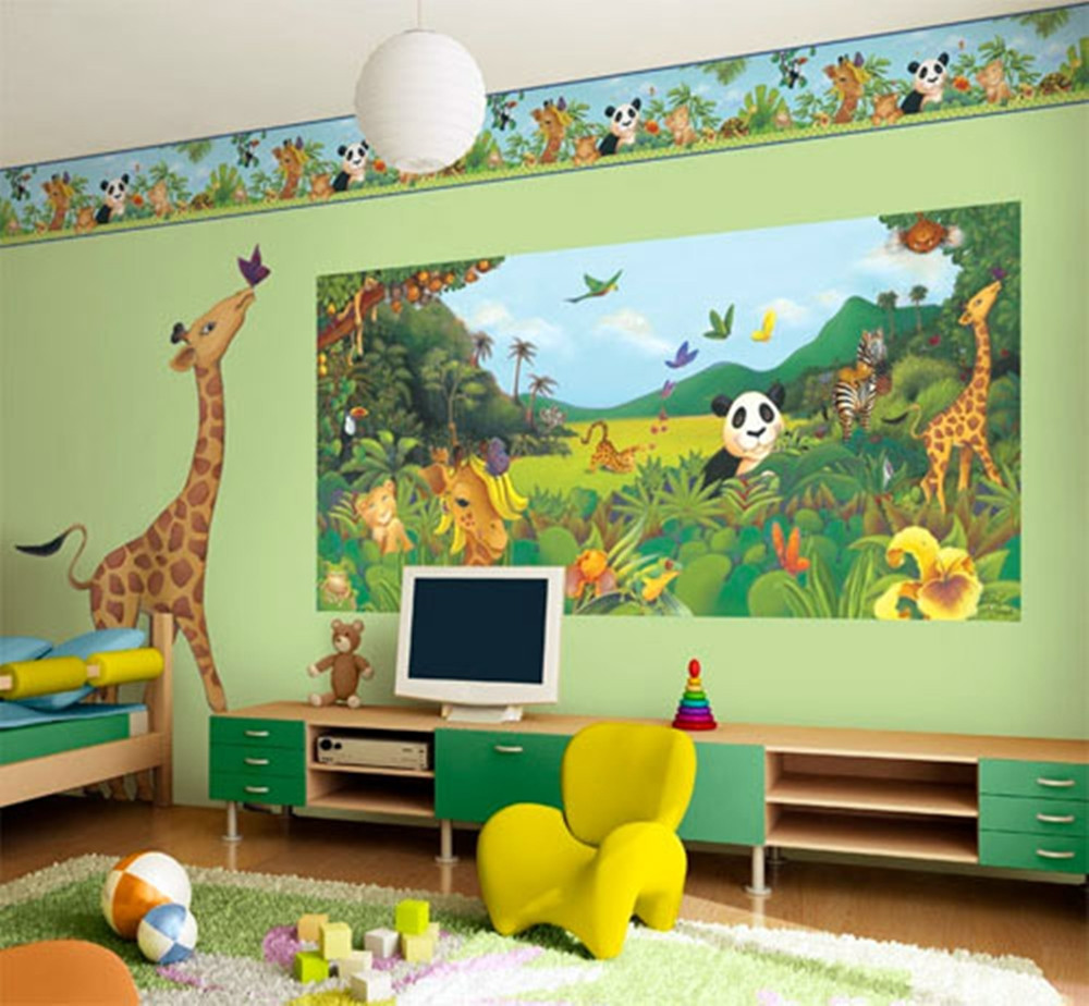 Best ideas about Kids Room Decor . Save or Pin Wall Art Décor Ideas for Kids Room Now.