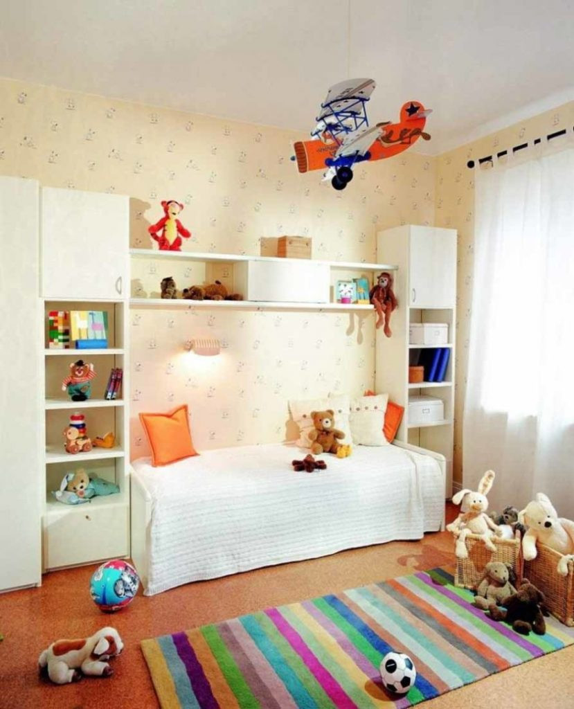 Best ideas about Kids Room Design . Save or Pin Cozy Kids Bedroom Interior Decorating Ideas With Wallpaper Now.